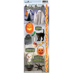 Paper House Productions - Halloween Collection - Cardstock Stickers - Trick or Treat