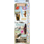 Paper House Productions - Hawaii Collection - Cardstock Stickers - Hawaii 2