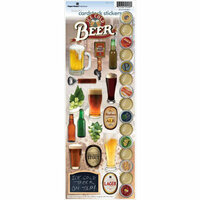 Paper House Productions - Beer Collection - Cardstock Stickers - Beer