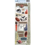 Paper House Productions - Football Collection - Cardstock Stickers - Football 2