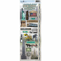Paper House Productions - New York City Collection - Cardstock Stickers - New York City 2