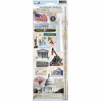 Paper House Productions - Washington DC Collection - Cardstock Stickers - Washington DC 2