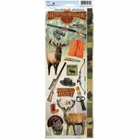 Paper House Productions - Hunting Collection - Cardstock Stickers - Hunting Season