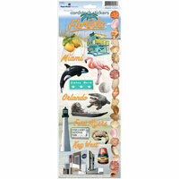Paper House Productions - Florida Collection - Cardstock Stickers - Florida 2