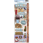 Paper House Productions - New Mexico Collection - Cardstock Stickers - New Mexico