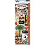 Paper House Productions - Las Vegas Collection - Cardstock Stickers - Las Vegas 2