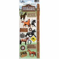 Paper House Productions - Horse Collection - Cardstock Stickers - Horses