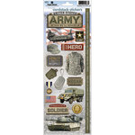Paper House Productions - Cardstock Stickers - United States Army