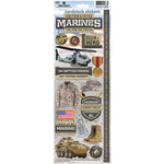 Paper House Productions - Cardstock Stickers- United States Marines