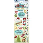 Paper House Productions - Christmas Cheer Collection - Cardstock Stickers - Merry Christmas