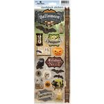 Paper House Productions - Fright Night Collection - Halloween - Cardstock Stickers - Halloween Hauntings
