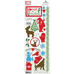 Paper House Productions - Home for Christmas Collection - Cardstock Stickers