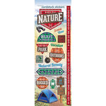 Paper House Productions - Cardstock Stickers - Back to Nature