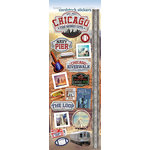 Paper House Productions - Cardstock Stickers - The Windy City