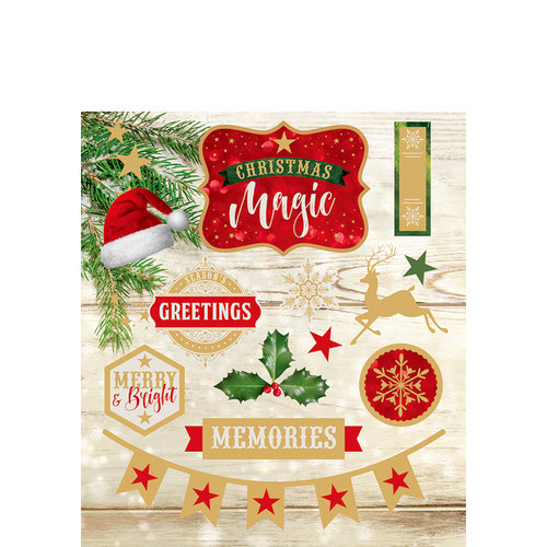Paper House Productions - Christmas - Cardstock Stickers - Christmas Magic