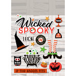 Paper House Productions - Halloween - Cardstock Stickers - Wicked Spooky
