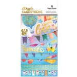 Paper House Productions - Color Washed Collection - StickyPix - Multipack Stickers with Foil Accents