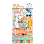 Paper House Productions - Sun Drenched Collection - StickyPix - Multipack Stickers with Foil Accents