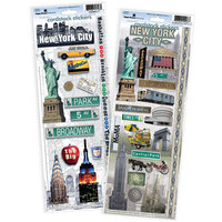Paper House Productions - Cardstock Stickers - New York