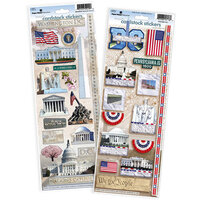 Paper House Productions - Cardstock Stickers - Washington DC