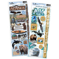 Paper House Productions - Cardstock Stickers - Alaska