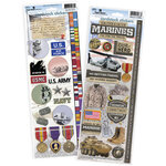 Paper House Productions - Cardstock Stickers - US Marines