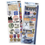 Paper House Productions - Cardstock Stickers - US Navy