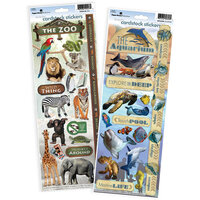 Paper House Productions - Cardstock Stickers - Zoo