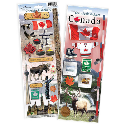 Paper House Productions - Cardstock Stickers - Canada