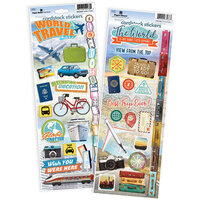 Paper House Productions - Cardstock Stickers - World Travel and Big Adventure