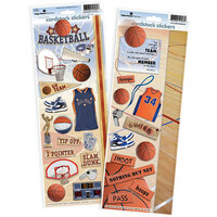 Paper House Productions - Cardstock Stickers - Basketball