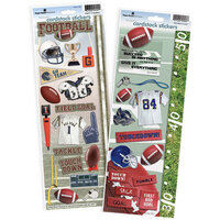 Paper House Productions - Cardstock Stickers - Football