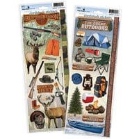 Paper House Productions - Cardstock Stickers - Hunting and Outdoors