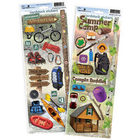 Paper House Productions - Cardstock Stickers - Outdoors and Camping