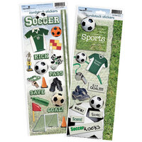 Paper House Productions - Cardstock Stickers - Soccer