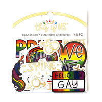 Paper House Productions - This Is Us Collection - Die Cut Sticker Pack - Pride