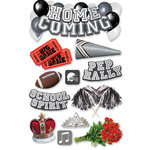 Paper House Productions - 3 Dimensional Cardstock Stickers - Homecoming