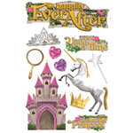 Paper House Productions - Happily Ever After Collection - 3 Dimensional Cardstock Stickers - Happily Ever After