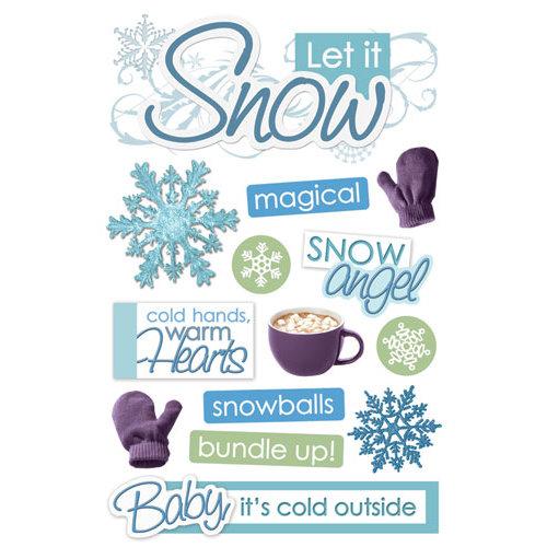 Paper House Let it Snow Sticker