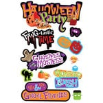 Paper House Productions - Halloween - 3 Dimensional Cardstock Stickers - Halloween Party