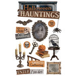 Paper House Productions - 3 Dimensional Stickers with Glitter and Epoxy Accents- Halloween Hauntings