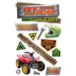 Paper House Productions - 3 Dimensional Cardstock Stickers - Off Road