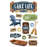 Paper House Productions - 3 Dimensional Cardstock Stickers - Lake Life
