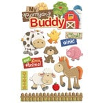 Paper House Productions - 3 Dimensional Layered Stickers - Barnyard Buddy