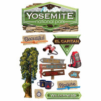 Paper House Productions - 3 Dimensional Cardstock Stickers - Yosemite
