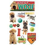 Paper House Productions - 3 Dimensional Stickers - You Had Me at Woof