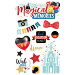 Paper House Productions - 3 Dimensional Stickers - Magical Memories