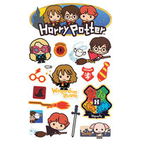 Paper House Productions - 3 Dimensional Layered Cardstock Stickers - Harry Potter Chibi with Foil and Glitter Accents