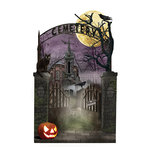 Paper House Productions - Halloween - 3 Dimensional Stickers - Cemetery Scene