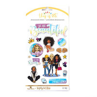 Paper House Productions - This Is Us Collection - 2 Dimensional Stickers - Sugary Gal